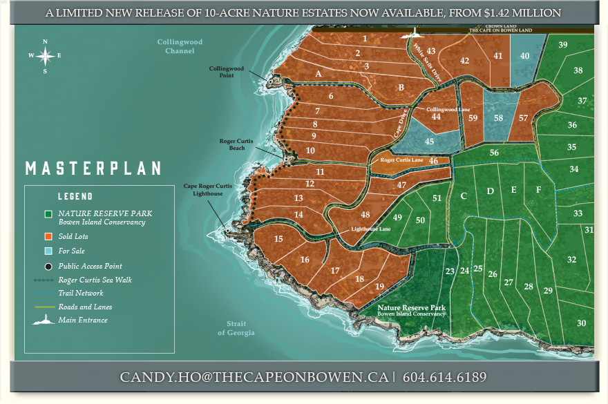 Cape on Bowen masterplan
