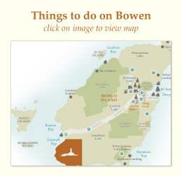 Things to do on Bowen